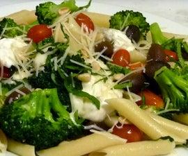Quick Mediterranean Pasta