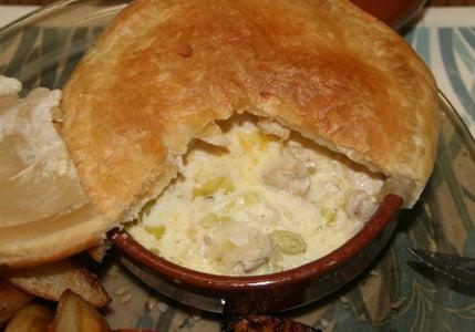 Creamy Chicken and Leek Pot Pies