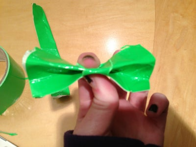 How to Make Bow Out of Duck Tape