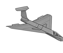 Card Stock Delta Jet