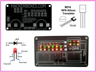 WOPR Badge Kit Assembly