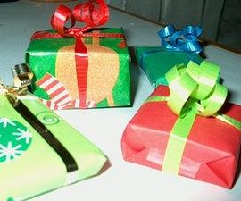 Mini Christmas Present Ornaments!