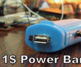 Powerduino - 1$ Powerbank