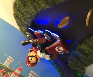Mario Kart 8 Themed Room