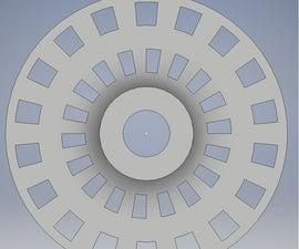 Rotary Encoder: 3D Printed