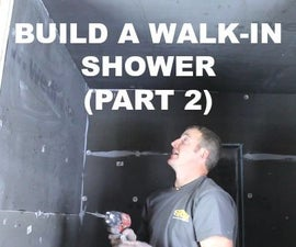 How to Build a Walk-In Shower (Part 2: Wedi Wall Installation)