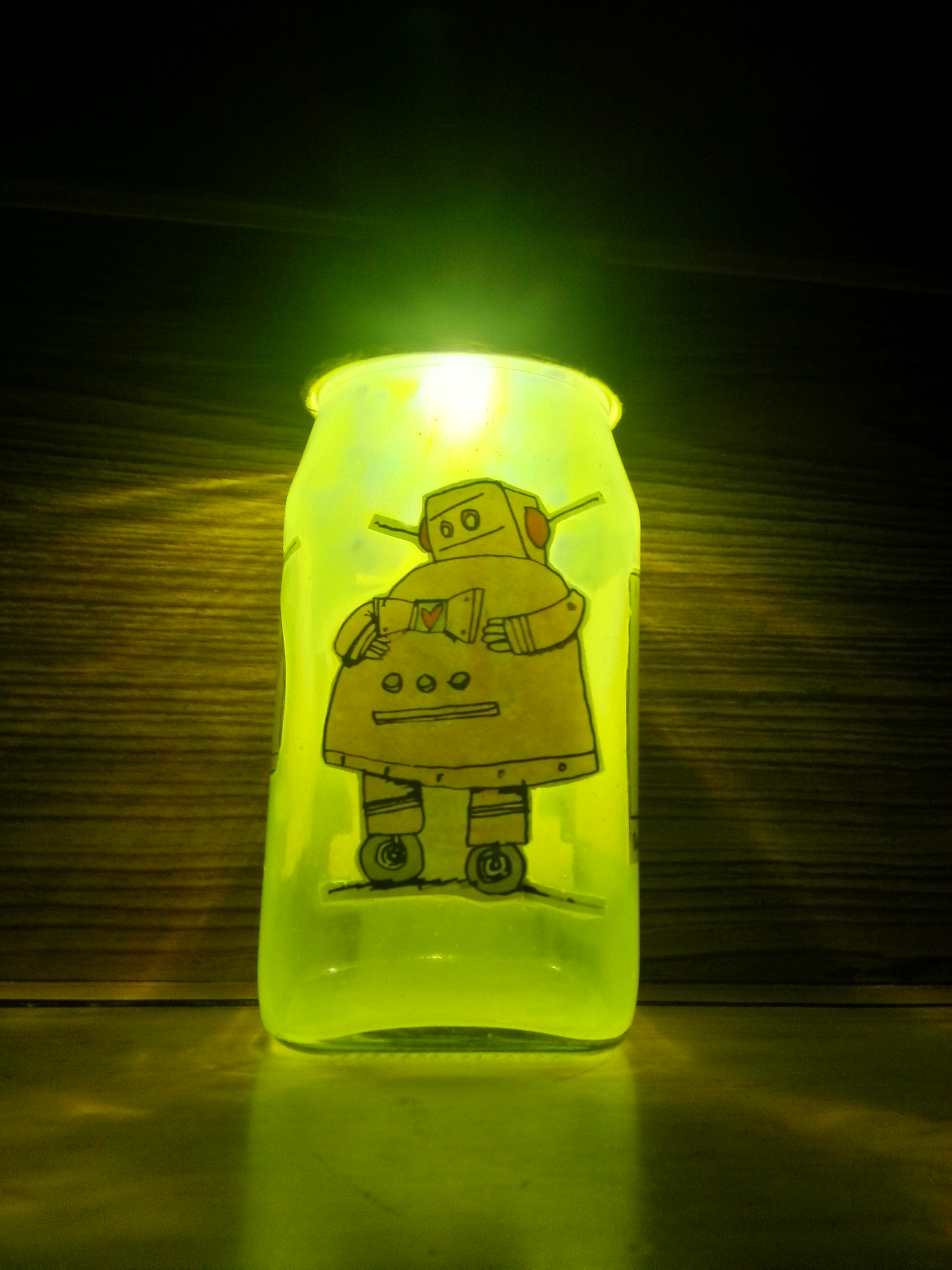 Picture of Rechargeable LED Jar Night Light
