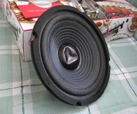 Dent Repair - Speaker's Dust Cap