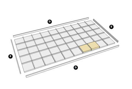 Assemble the Grid Frame