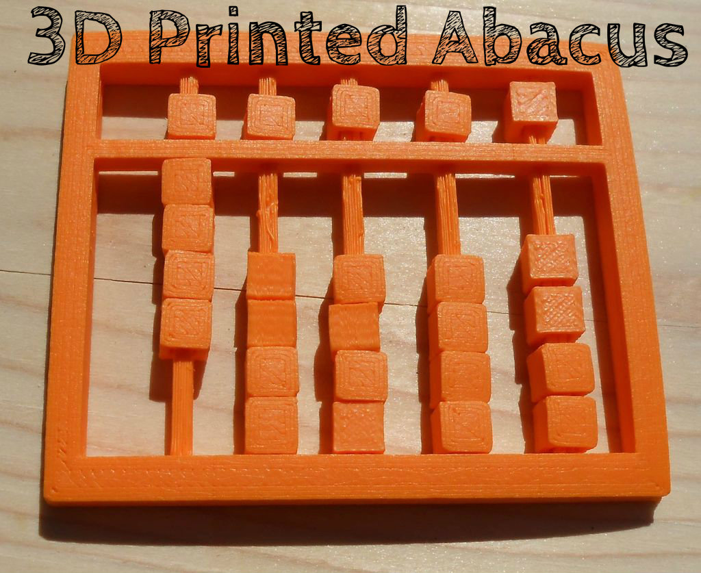 Picture of 3D Printed Abacus