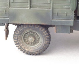 Realistic Weathering On Military Models