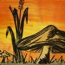 Easy Sunset Art [ORANGE]