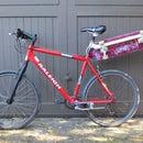 Bicycle Seat Post Skateboard Rack