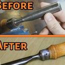 Simple Gouge Sharpening and Restoration Tricks