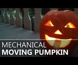 Making a Moving Mechanical Pumpkin