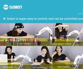 How to control a Arduino controlled robotic arm of Dobot team