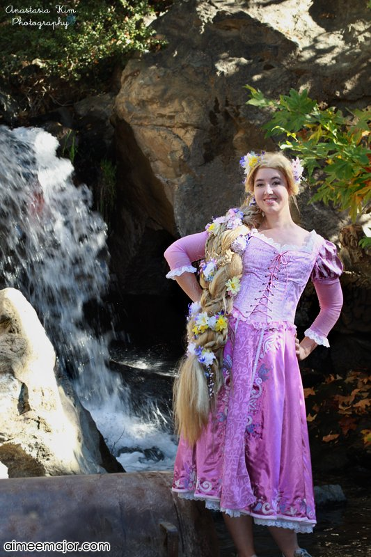 sc 1 st  Instructables & Disney Tangled Rapunzel Costume: 6 Steps (with Pictures)