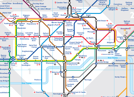 Picture of Reading the Tube Map