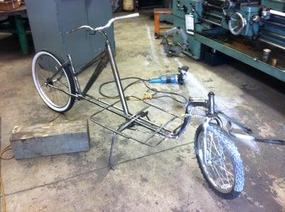Building the Basket Support Frame