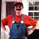 HOW TO MAKE a LAST MINUTE MARIO COSTUME