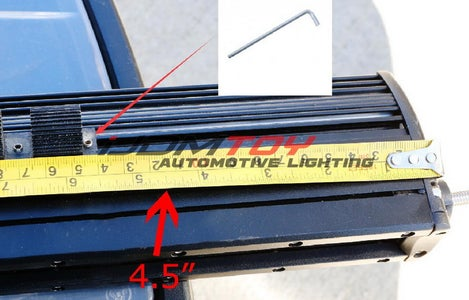 This Section of the Tutorial Will Show You How to Mount the LED Light Bar Onto the Lower Bumper Area.