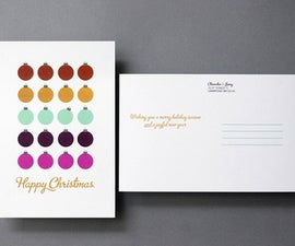 How to Make Holiday Postcards