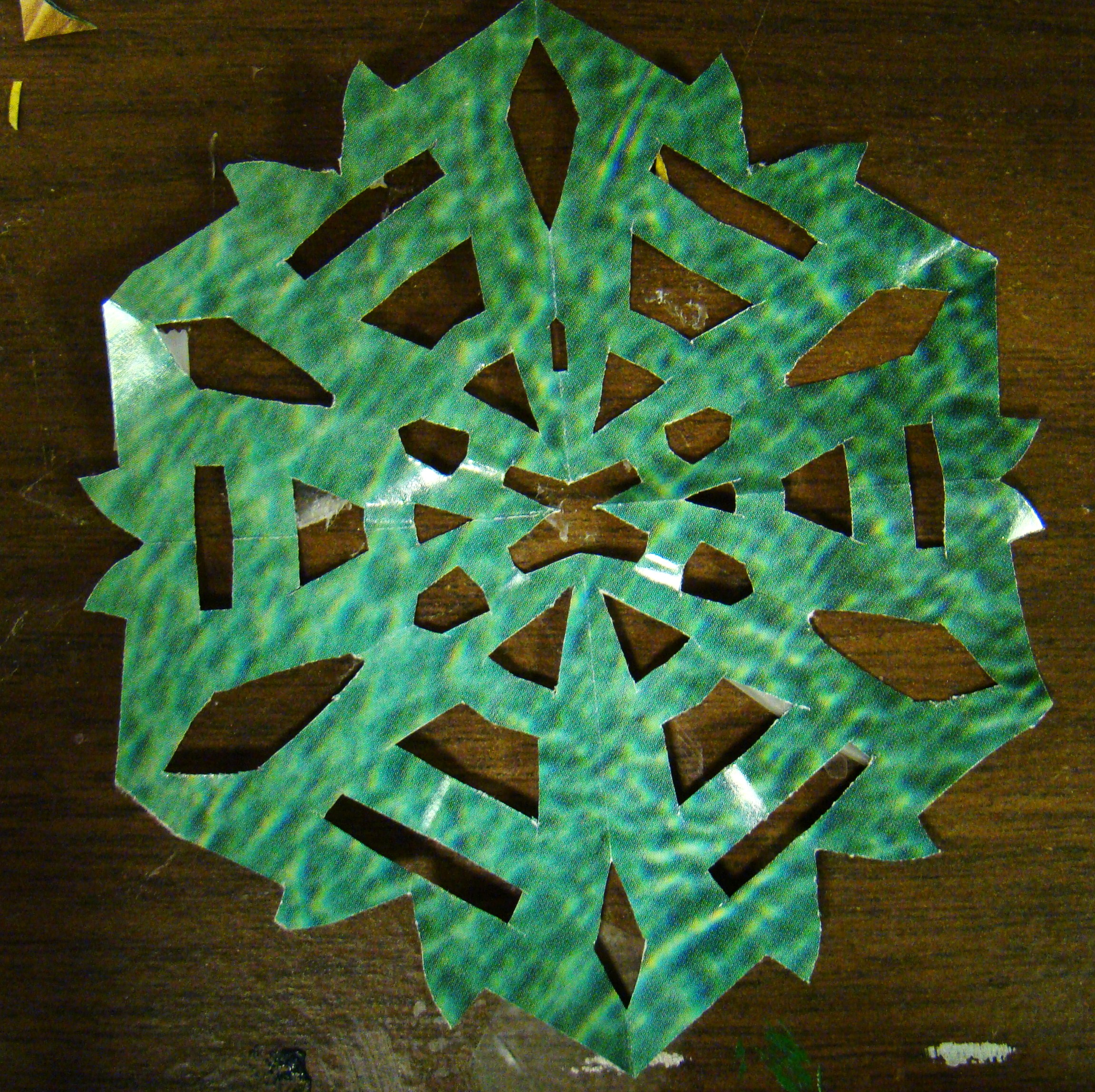 Picture of Making the Snowflake (II)