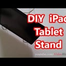 Easy DIY iPad Tablet Stand