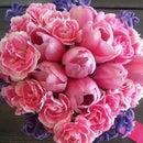 Spring Flower Bouquet by diyheart.com
