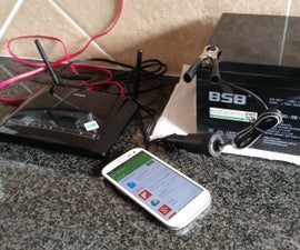 Running a DSL Router from a 12v Battery (Anti-Loadshedding DSL)