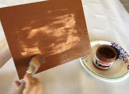 Painting the Wood Panel