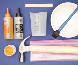 Tools and Materials for Glue