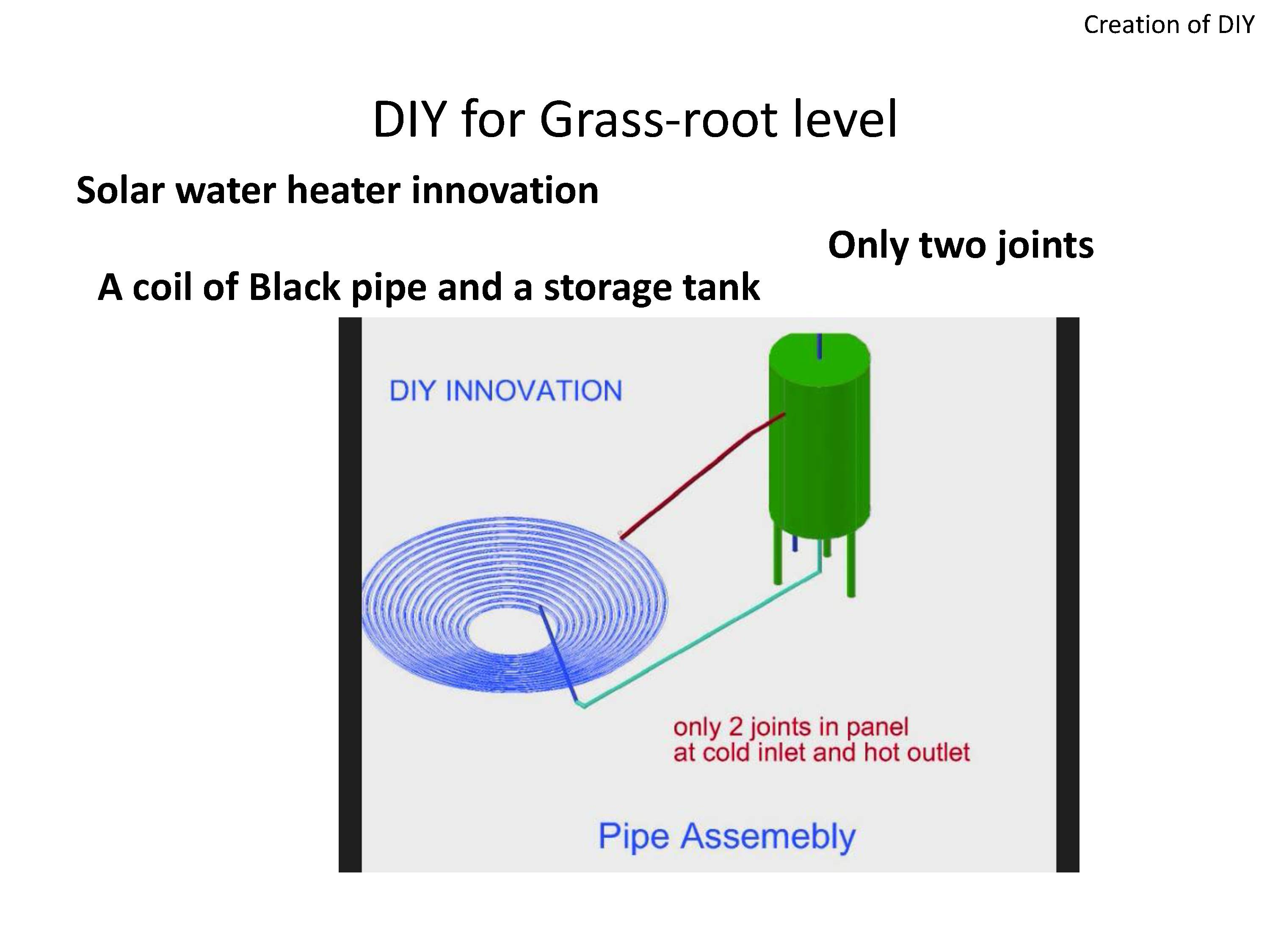 Picture of DIY Passive Solar Water Heater