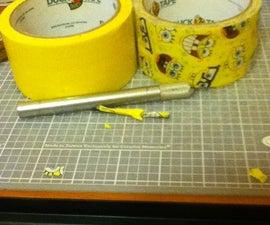 Duck Tape Bobbie Bin