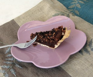 Chocolate Bacon Chess Pie