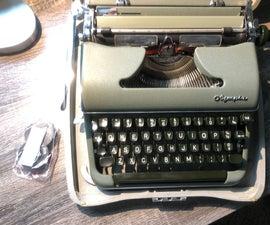 How to Change a Typewriter Ribbon