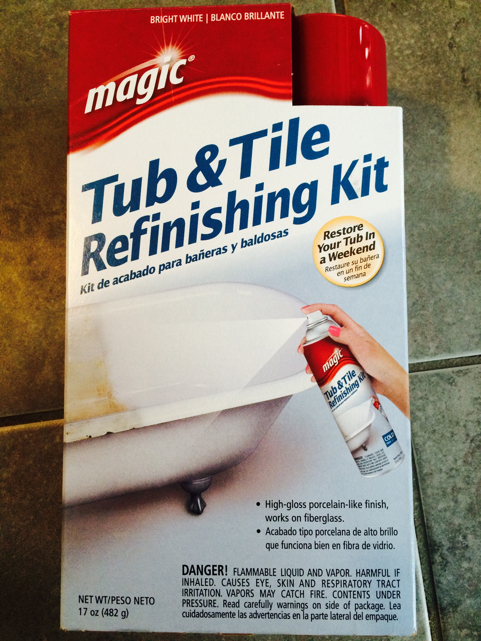 Picture of Refinish the Tub Floor
