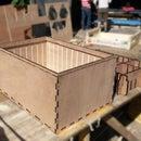 Basic Multi-Modular Frames for Cargo Bikes - Stackable watertight laser cut boxes