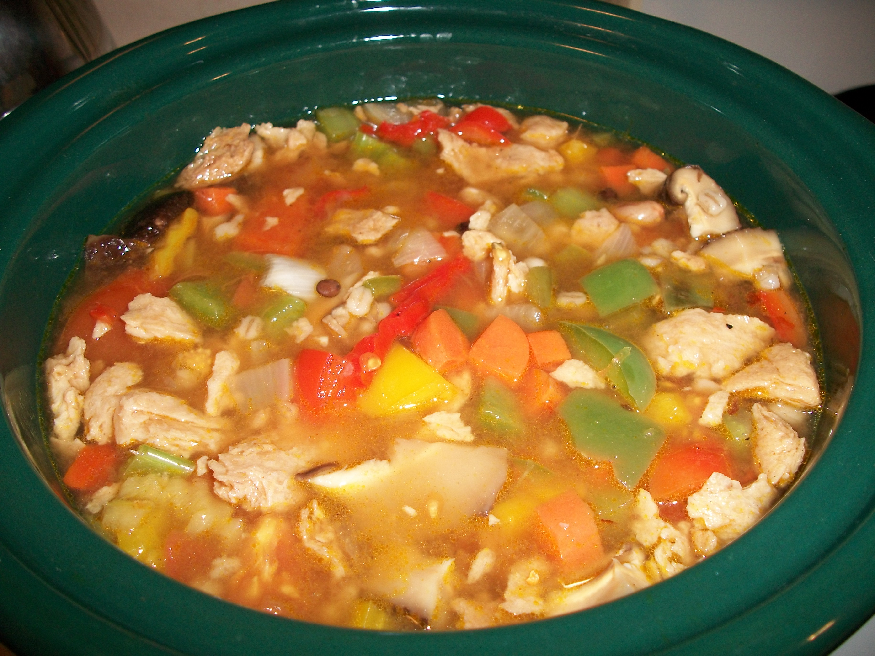 Picture of The Soup That Won the War- Pepper Pot Soup (Vegetarian)