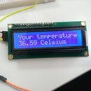 Arduino Thermometer + LCD I2C