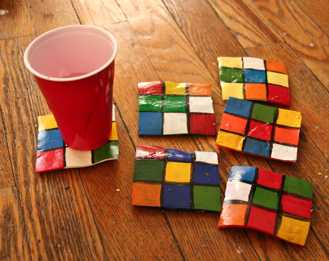 Picture of Rubix Coasters