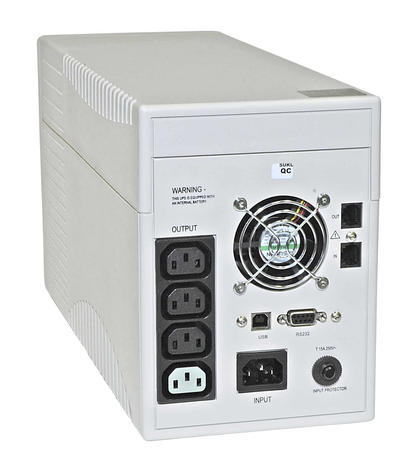 Picture of Can my UPS protect my TV and other Electronics other than my PC?