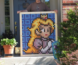 Princess Peach Pointillism