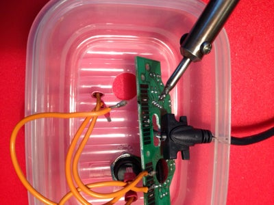 Solder Wires to the Contacts