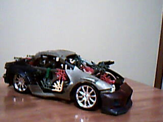 Picture of Extreme V8 Knex Car