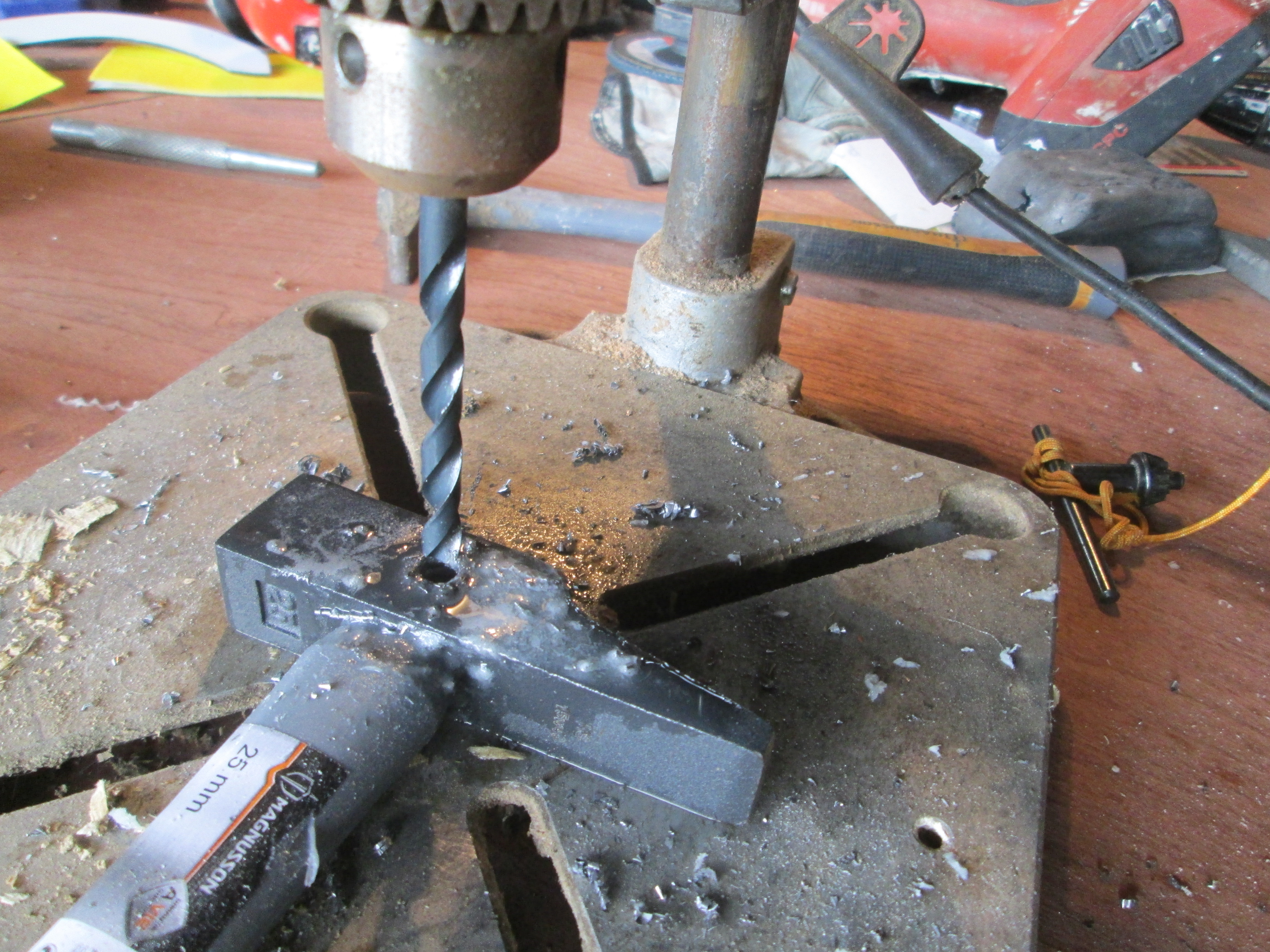 Picture of Prepping the Hammers Head
