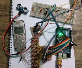 My old phone + arduino = phonoduino