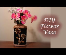 DIY Flower Vase - Best Out of Waste | Flower Vase Out of Gerber Cereal Box