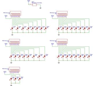 ROMANTIC PCB CIRCUIT DIAGRAM: