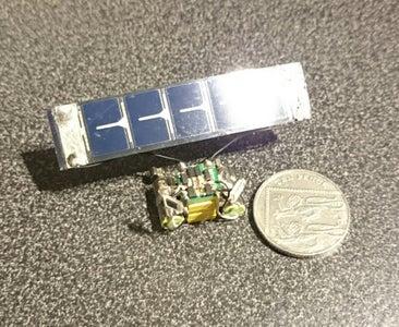 Nano Photovore BEAM Robot
